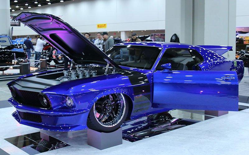 1969 Mustang Custom called Stampede