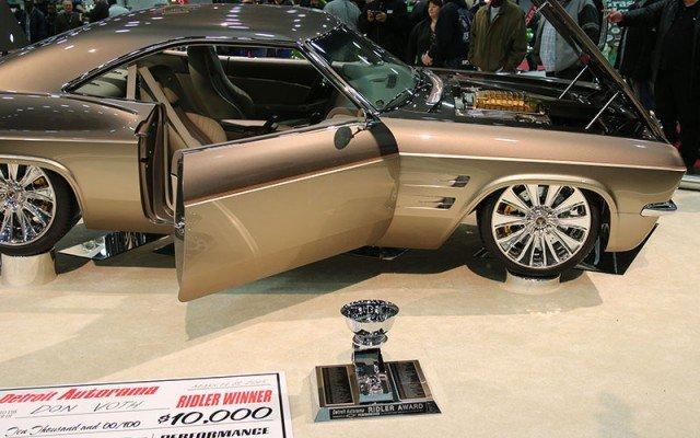 Chip Foose 1965 Chevy Impala wins Ridler Award