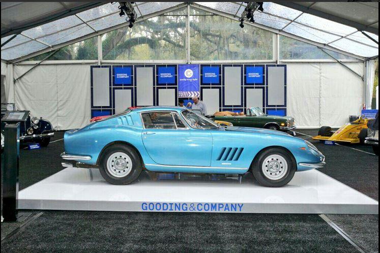 1967 Ferrari 275 GTB/4 sold at Gooding & Co Auction on Amelia Island