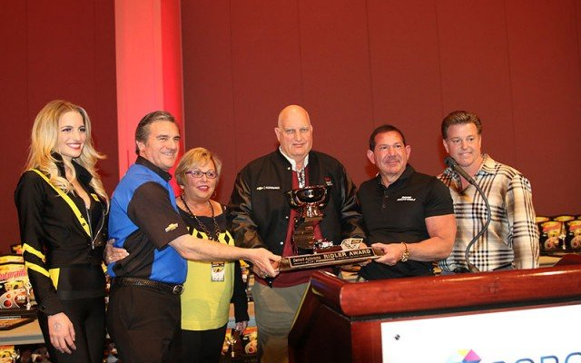 Ridler Award ceremony at 2015 Detroit Autorama