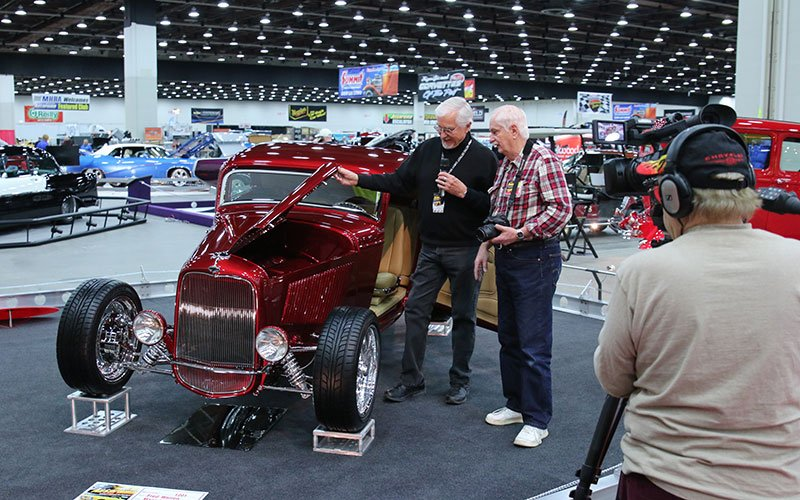 1932 Ford 3-Window Coupe - photo gallery of 2015 Detroit Autorama show cars