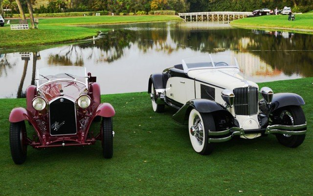 Winners of the 2015 Amelia Island Concours