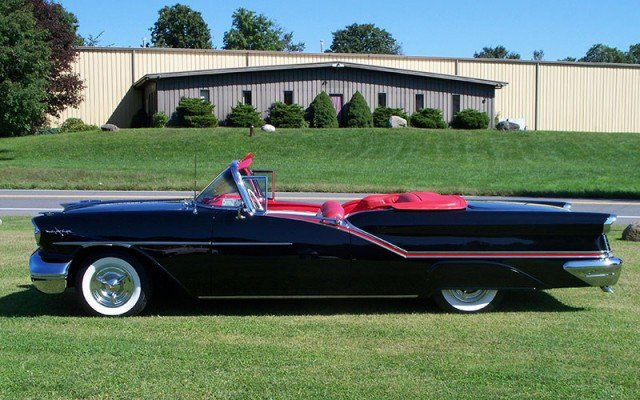 1957 Olds 98 Convertible collector car values for 2015 heading higher
