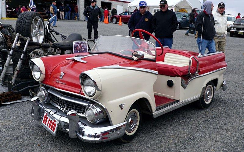 1955 Ford Fairlane 500 Golf Cart