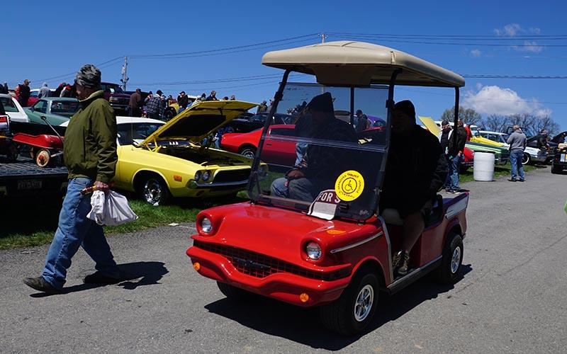 '57 Chevy golf cart