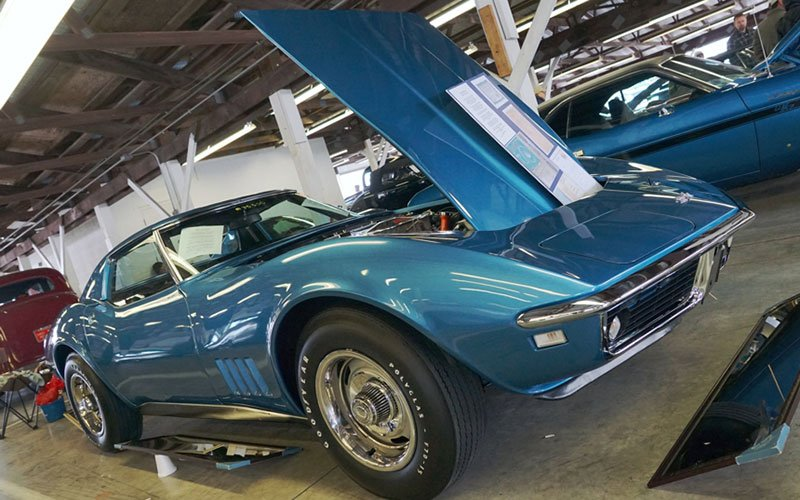 1968 Corvette Coupe for sale at Carlisle Car Corral