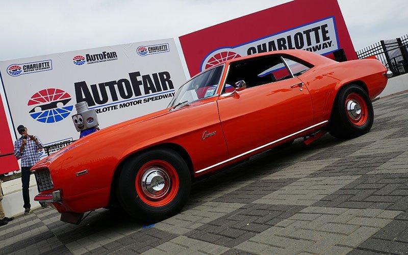 1969 Camaro ZL1 wins Best of Show at 2015 Spring Charlotte Autofair