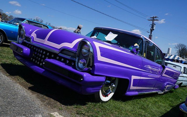 1957 Lincoln Premier Custom at Spring 2015 Carlilse Car Show