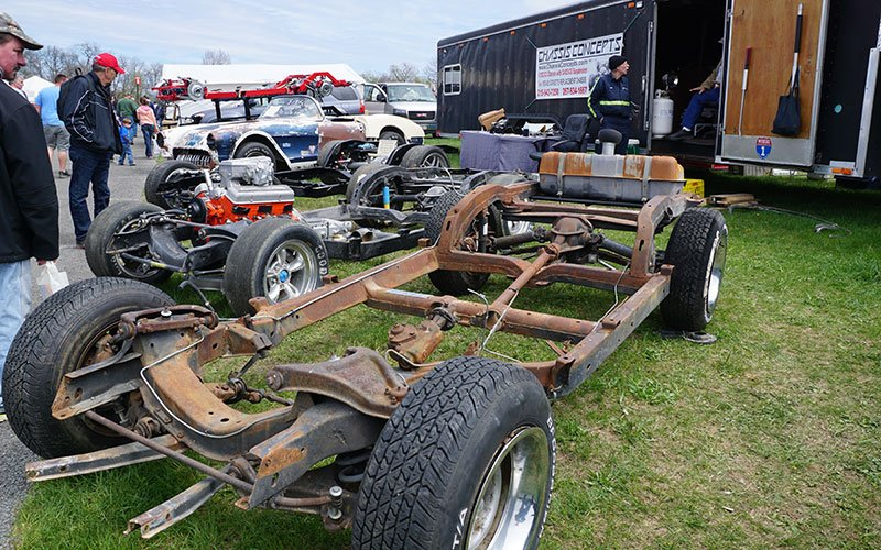 chassis display in swap meet