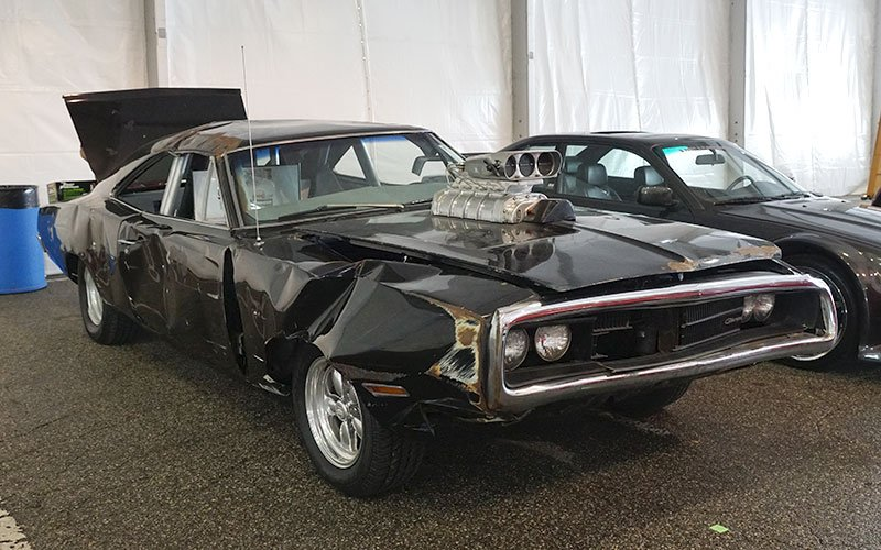 Vin Diesel '69 Dodge Charger from the first Fast and Furious movie post crash scene
