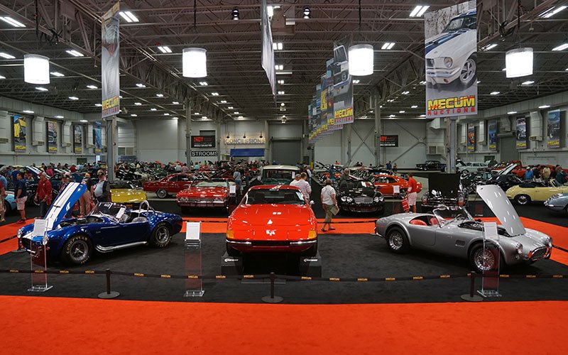 Don Davis Collection at Dana Mecum's 2015 Indy Spring Classic Auction