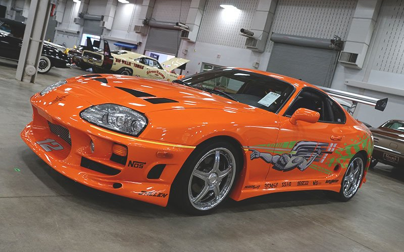 Paul Walker 1993 Toyota Supra tuner street racer from the movie Fast and Furious