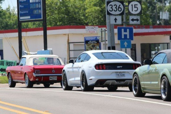 Day Five of the 2015 Hot Rod Power Tour. (Photo by Mustang 360.)