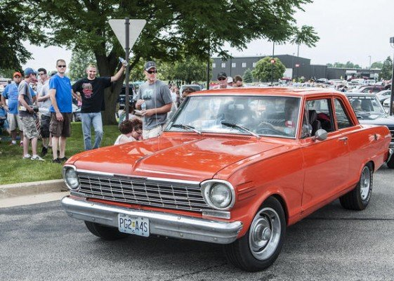 Holly Hart/The News-Gazette The 21st Annual Hot Rod Power Tour, Sunday, June 7, 2015 at Parkland College.