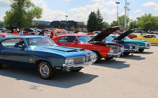 oldsmobile club of america national meet 2014