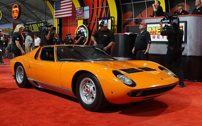 Mecum Auction at Pebble Beach Concours Week