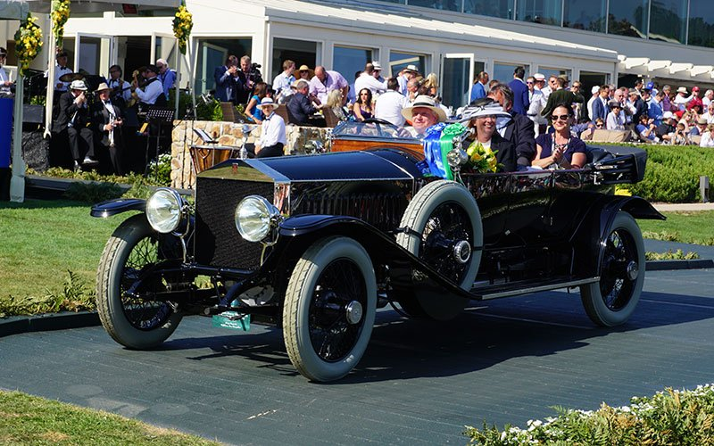 runners-up at the 2015 Pebble Beach Concours