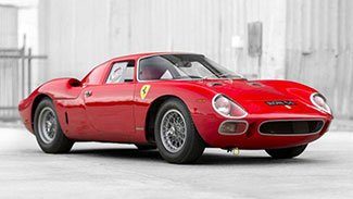 Biggest sale, 1964 Ferrari 250 LM by Scaglietti sold for $17,600,000 at RM/Sotheby's Auction at the 2015 Pebble Beach Concours