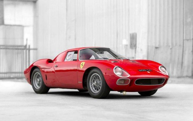 1964 Ferrari 250 LM by Scaglietti was the top sale during Pebble Beach Concours Week