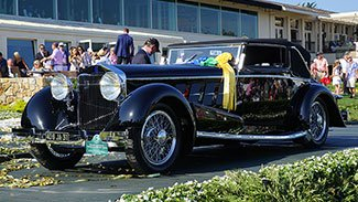 1924 Isotta Fraschini Tipo 8A wins Best of Show at 2015 Pebble Beach Concours