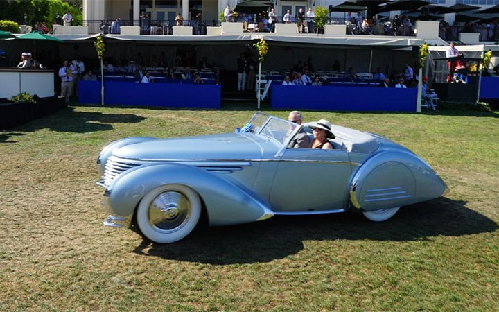 1937 Delahaye at 2015 Pebble Beach concours