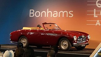 1951 Ferrari 212 Inter Cabriolet sold at Bonhams Auction during 2015 Pebble Beach Concours