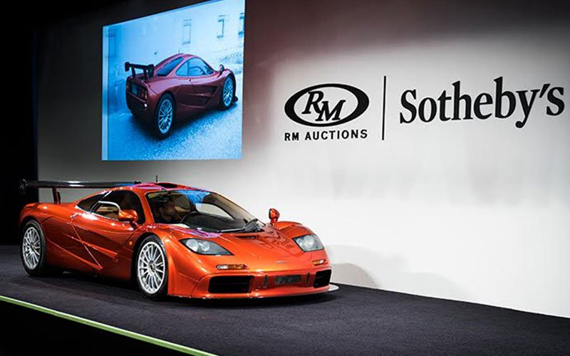 1998 McLaren F1 LM Specification at Pebble Beach Concours Week