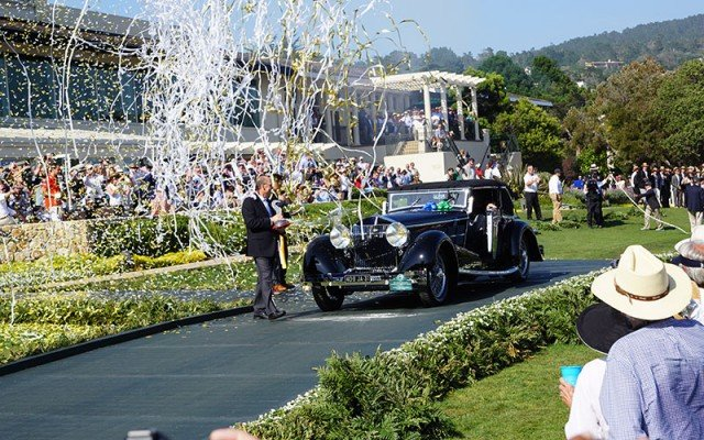Best of Show 2015 Pebble Beach Concours