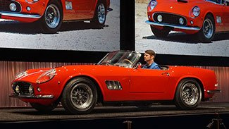 1961 Ferrari 250 GT SWB California Spider brought a final price of $15,300,000