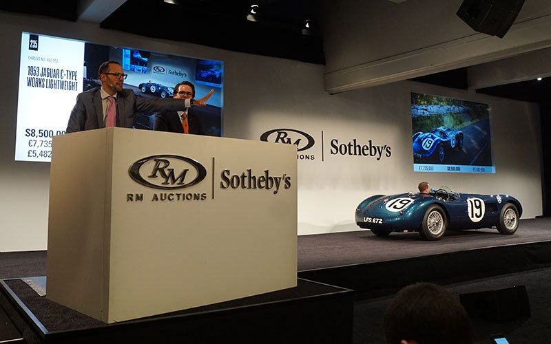 RM/Sotheby Auction at 2015 Pebble Beach Concours
