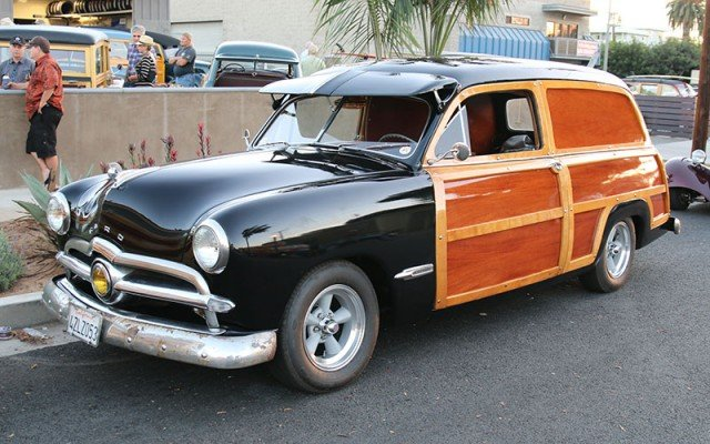 Wavecrest Woodie Show 2015 on Thurday