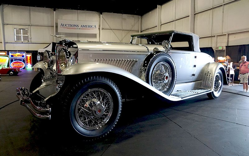 Auctions America sale at Auburn Cord Duesenberg Festival