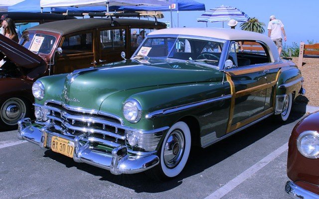 1950 Chrysler Town & Country Newport from Redondo Beach