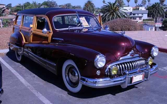 1947 Buick Super Woodie Wagon owned by Sid Munger, Yorba Linda, CA