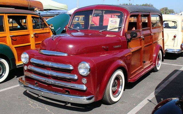 1949 Dodge School Bus owned by Ray & Kathy Reinhard, Encinitas