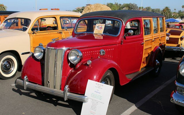 1952 English Ford V8 Pilot Woodie Station Wagon