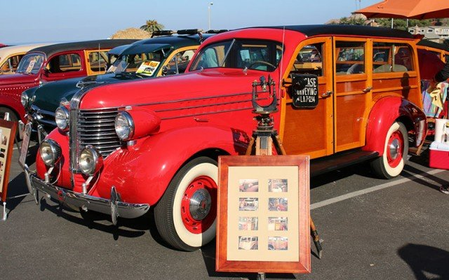 1938 Pontiac Woodie Station Wagon, one of only 4 left