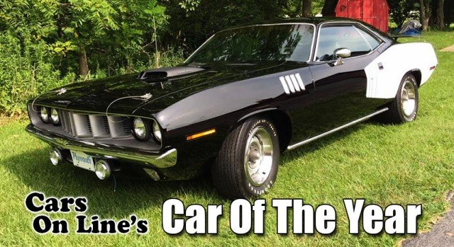 1971 Plymouth Hemi Cuda 2015 Car of the Year