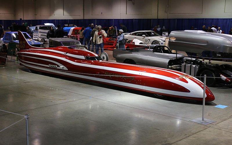 2014 Ferguson Streamliner at Grand National Roadster Show