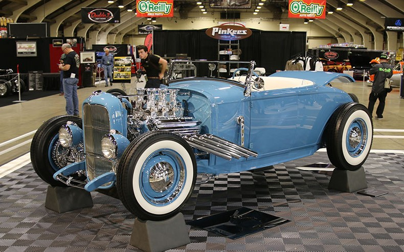 1931 Ford Roadster at Grand National Roadster Show