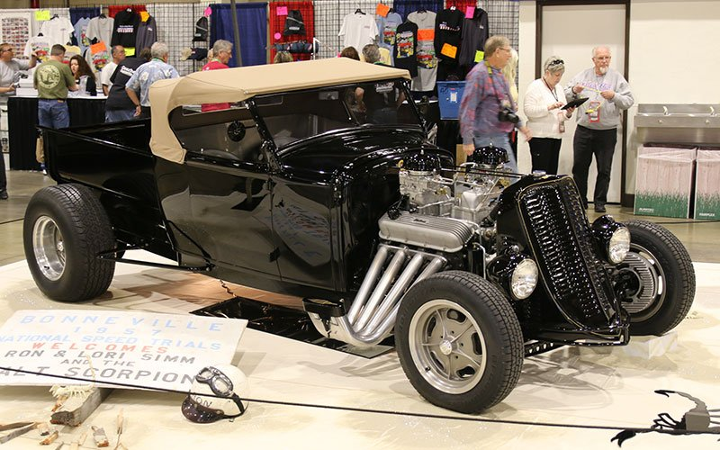 1931 Ford Roadster Pickup at the Grand National Roadster Show