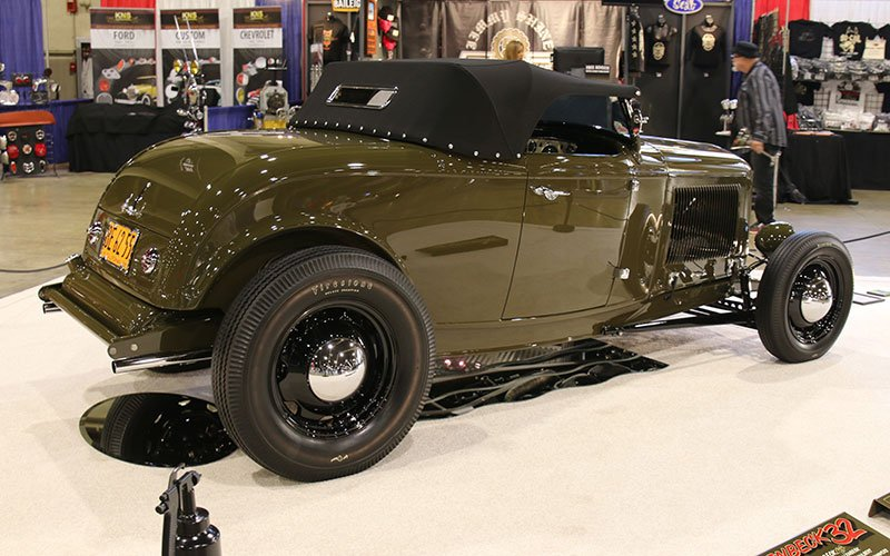 1932 Ford Highboy Roadster up for America's Most Beautiful Roadster award