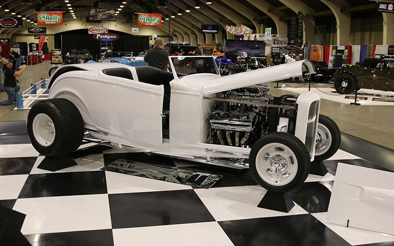 1932 Ford Highboy Roadster at Grand National Roadster Show