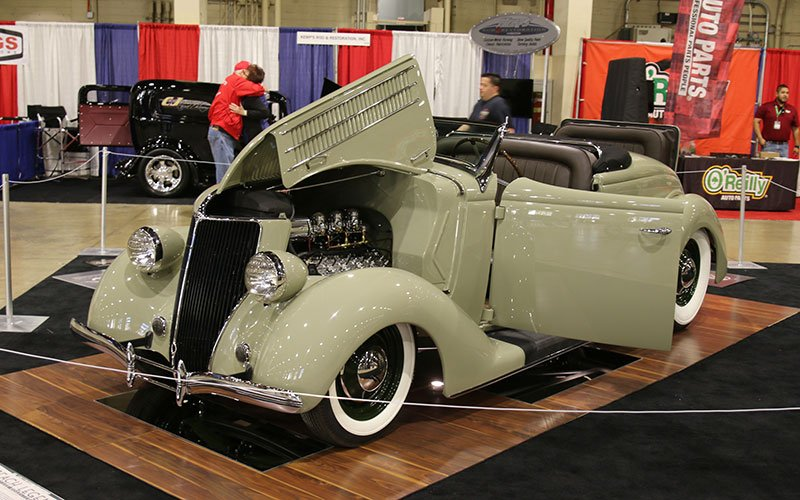1936 Ford Deluxe Roadster at Grand National Roadster Show