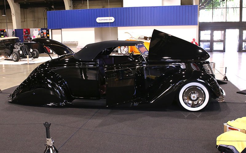 1936 Ford Roadster contends for America's Most Beautiful Roadster trophy
