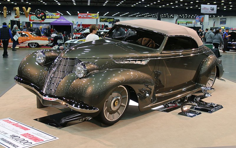 """1939 """"Olds Cool""""has been awarded the prestigious 2016 Ridler Award at the Detroit Autorama"""