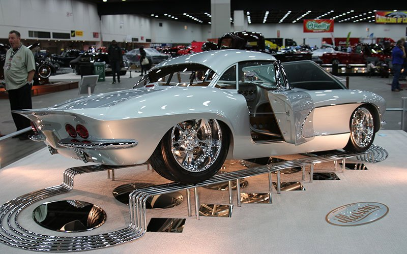 top show cars at Detroit Autorama-1962 Corvette Custom