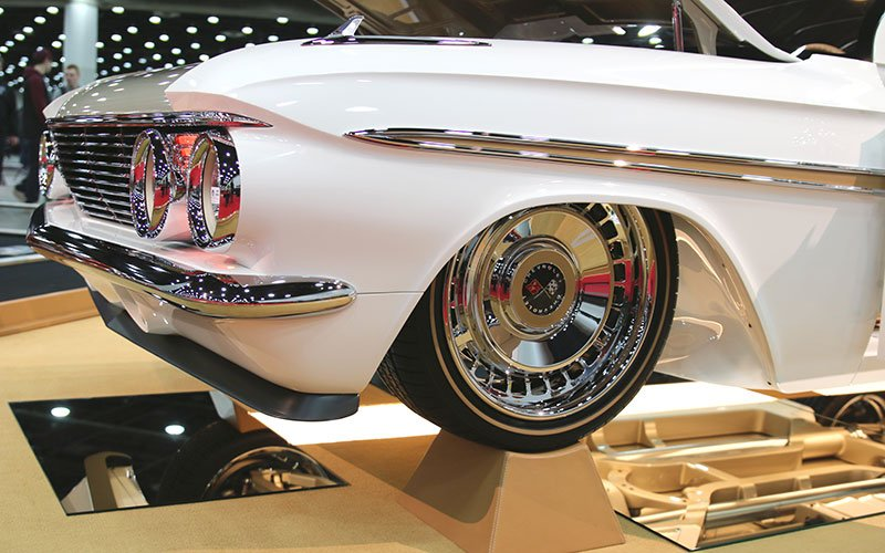1961 Chevy Impala Great 8 at 2016 Detroit Autorama