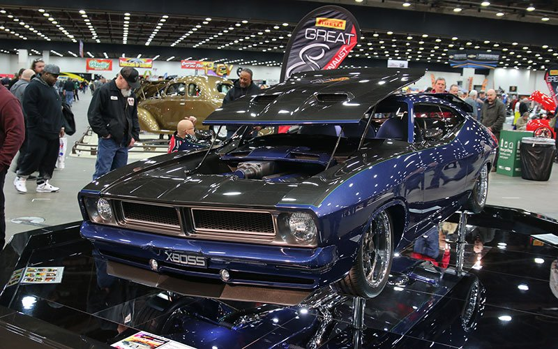 1976 Falcon X-Boss Custom Street Machine makes Great 8 at the 2016 Detroit Autorama