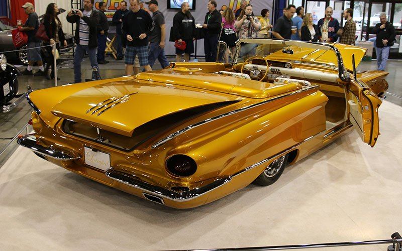 1960 Buick LeSabre Convertible at Grand National Roadster Show